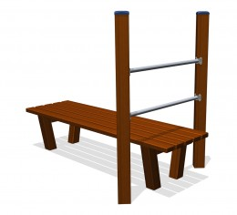 Sit-up bench