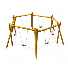 Hexagon swing