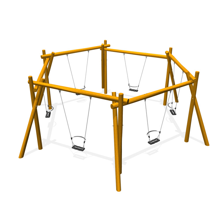 Hexagon swing huskestativ