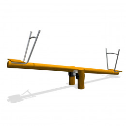 Stand seesaw 2 persons, internal damping