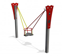 Toddler swing huske 1