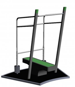 SportPoint Bench Press High